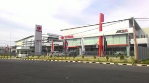 Dealer Auto2000 Majalengka, Jawa Barat yang baru saja diresmikan operasionalnya
