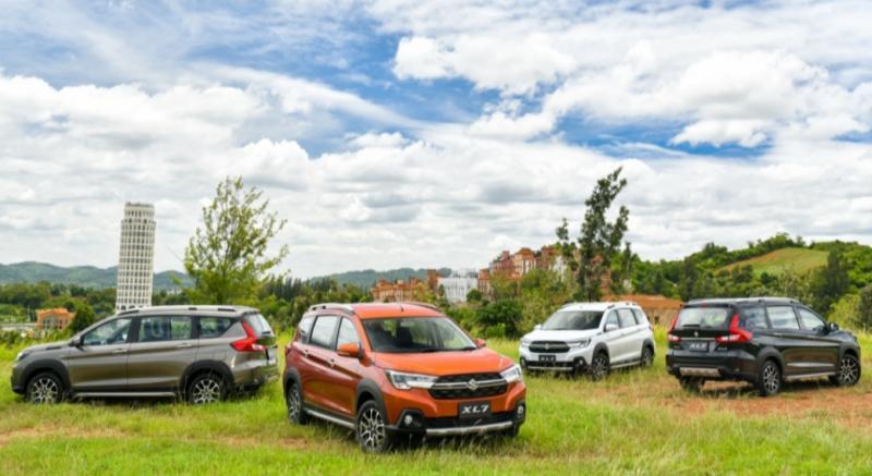 Suzuki XL7 bersama All New Ertiga menjadi ujung tombak ekspor Suzuki yang mendukung pemulihan ekonomi Indonesia
