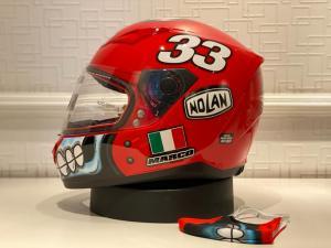 Helm baru Nolan edisi terbatas, buruan dilacak sebelum kehabisan ya guys