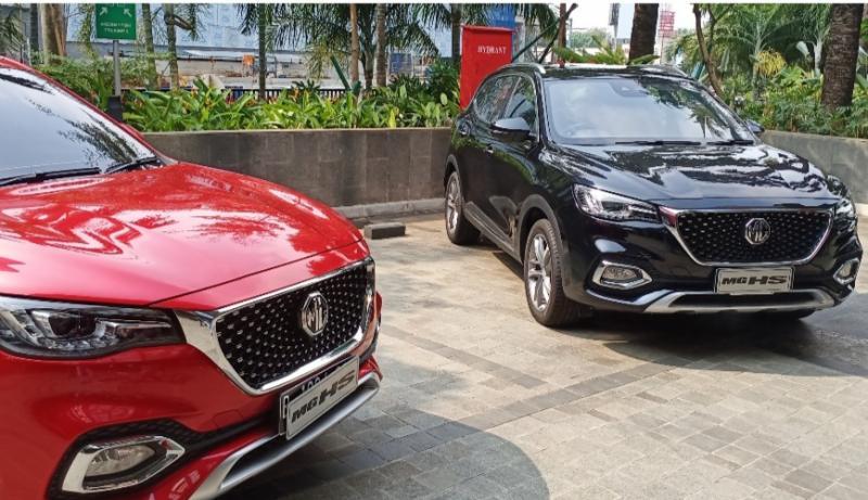 MG HS dengan 5 moda mengemudi, electric panoramic sunroof, MG Motor Indonesia, Morris Garage, fitur sporty dan elegan. (foto : bs)