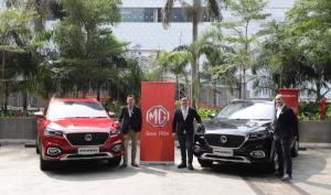 Figo Lee - Managing Director MG Motor Indonesia, Arief Syarifudin - MG Motor Director MG Motor Indonesia, dan Rendi Radito – Sales & Network Director MG Motor Indonesia