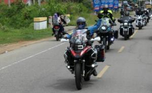 Bikers IMBI Aceh komit promosikan wisata daerah. (foto : Zulfadli)