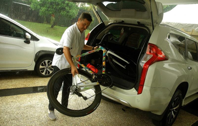 Rifat Sungkar, sesama pesepeda harus saling menghargai