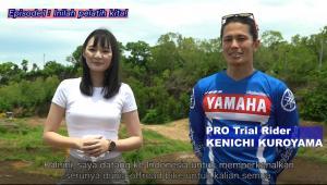 Untuk semua penggemar motor off-road di Indonesia, perkenalkan saya rider pro trial, Kenichi Kuroyama.