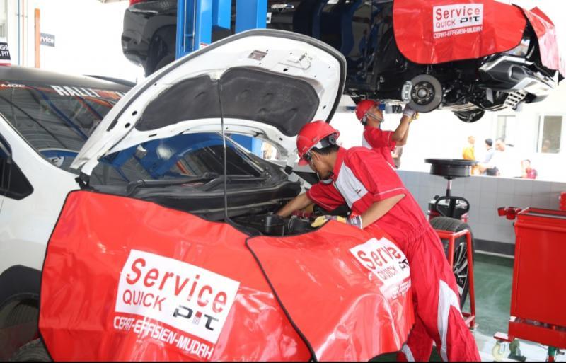 Promo menarik ditawarkan MMKSI untuk pelanggan kendaraan penumpang Mitsubishi Motors yang kendaraanya sudah di atas 50.000 km
