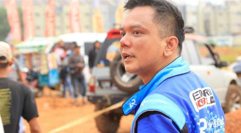 Advannov sempat mengalami mobil terbakar saat mengikuti sprint rally di BSD Tangerang, paling
