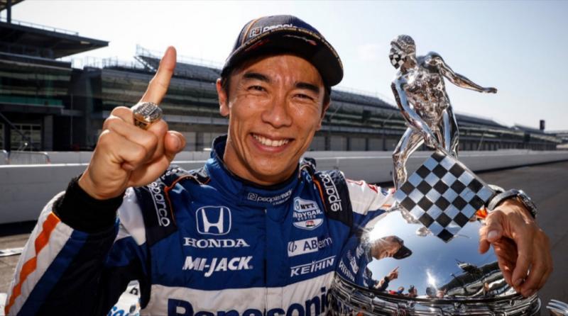 Takuma Sato, juarai balapan IndyCar Indianapolis 500 ke-104