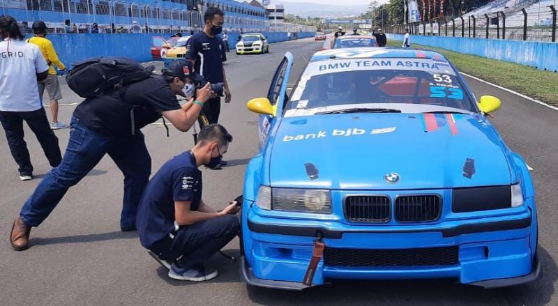 BMW Team Astra dihantam ujian berat saat seri pertama ISSOM 2020