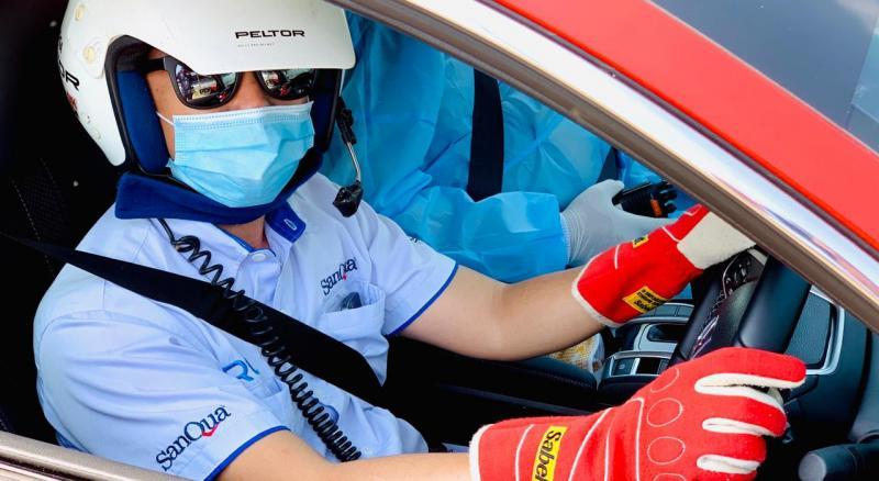 Ario Danu, perally nasional yang menjadi sosok di balik mobil fast doctor sirkuit Sentul International