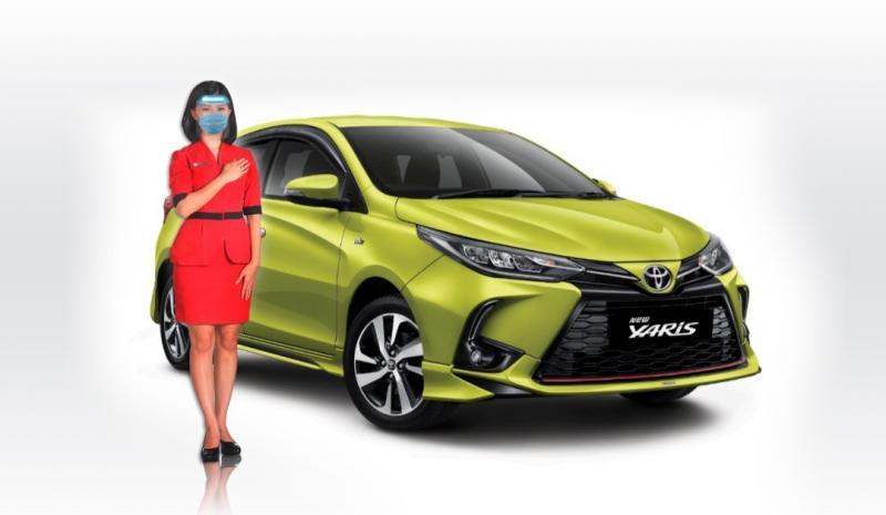 Counter sales Auto2000 dan Toyota New Yaris