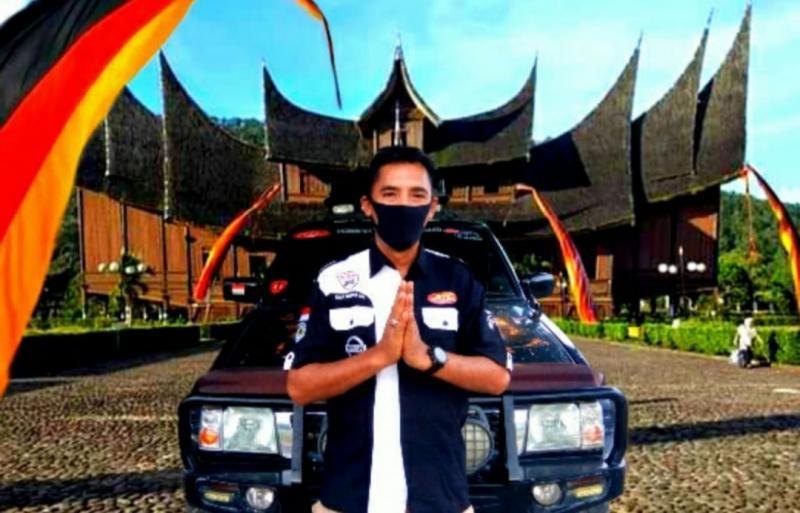 Salam Santun dari Arifin Jayawardana, Ketua NTC Sumatera Barat. (foto : ist)