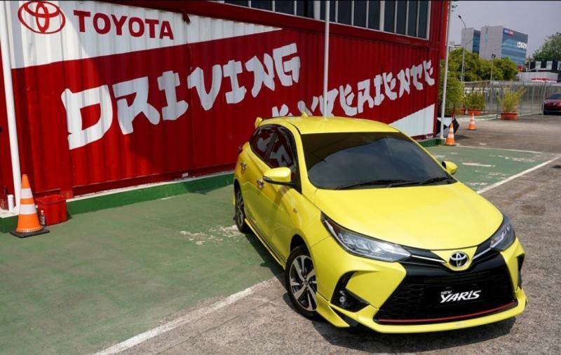 Toyota New Yaris dengan berbagai penyempurnaan yang makin bertenaga, stabil dan lincah
