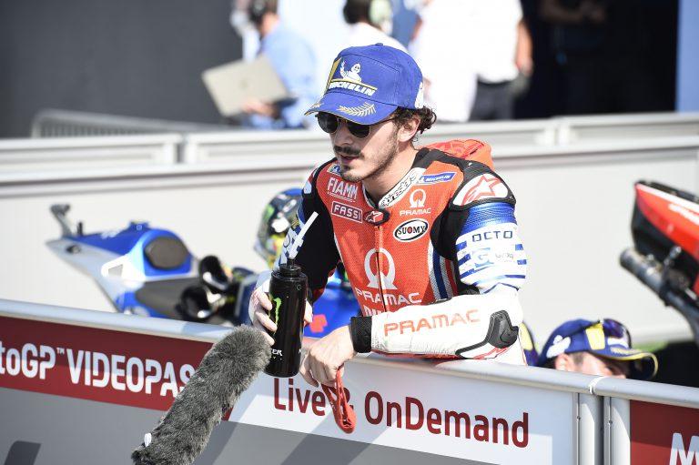 Francesco Bagnaia, didukung Valentino Rossi promosi ke Ducati. (Foto: therace)