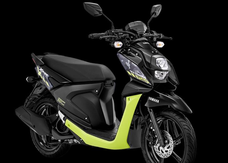 Yamaha X-Ride 125 dengan warna baru yang lebih menggoda dan mempesona