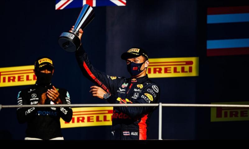 Alex Albon, pembalap pertama berdarah Thailand naik podium ajang F1