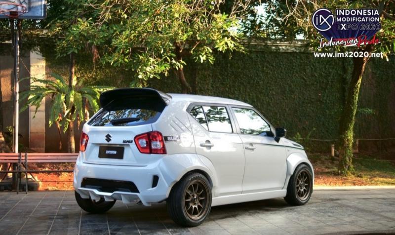 Suzuki Ignis versi time attack kreasi Garasi Drift untuk supergiveaway IMX 2020