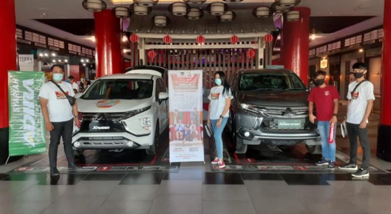Mitsubishi gelar inovasi customer gathering & Drive-in Cinema di Makassar