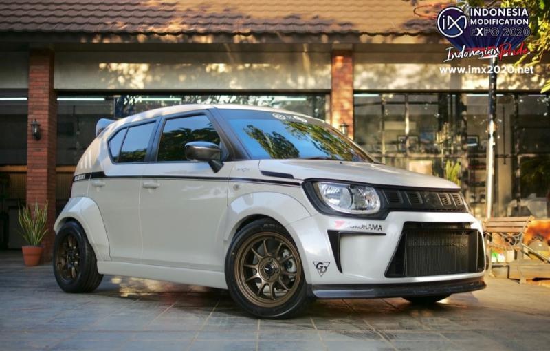 Suzuki Ignis time attack persembahan PT Suzuki Indomobil Sales untuk supergiveaway 2020