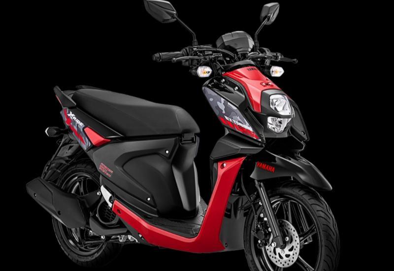 Warna attractive red salah satu dari 3 warna penyegaran pada Yamaha X-Ride 25