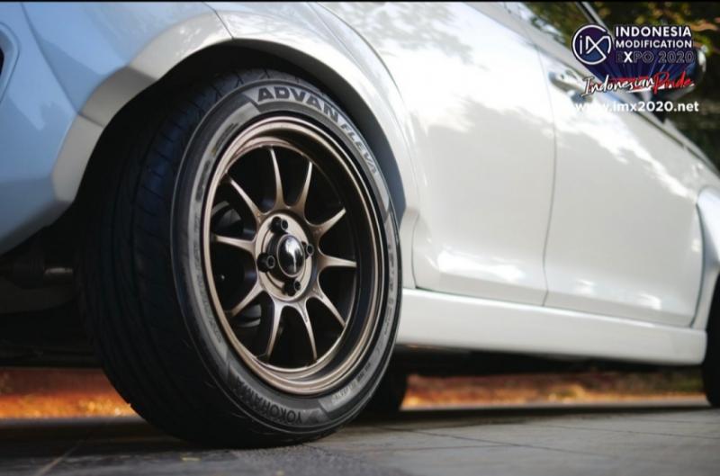 Pelek untuk Suzuki Ignis time attack Supergiveaway IMX 2020 produksi sendiri Garasi Drift.