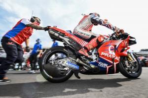Pramac Ducati, double DNF menyakitkan di Misano. (Foto: therace)