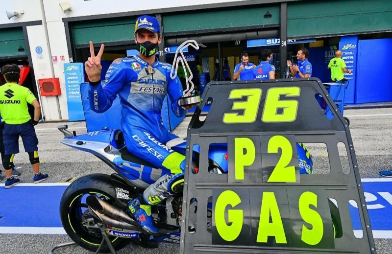 Joan Mir, berhasil raih P2 di MotoGP Emilia Romagna namanya makin diperhitungkan