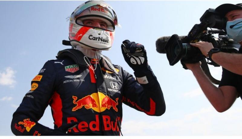 Max Verstappen (Belanda/Red Bull), tak ada kata menyerah dan akan terus menyerang. (Foto: skysport)