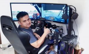 Jaka Siswoyo, sim racer senior paling konsisten dan salah satu kandidat juara BDRARP