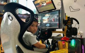 Attaya Kenzie, Sim Racer termuda sarat prestasi siap bertarung di BDR Race Against Pandemic