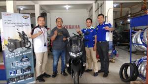 Iwan Tumenggu konsumen pengguna Yamaha NMax di Bangka Belitung