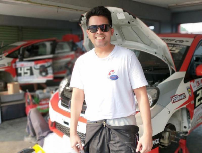 Catra Felder, dari Sim Racer ke balap profesional yang kangen lagi dengan balap simulator