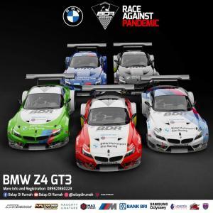 BDR Race Against Pandemic digelar 5 seri pertemukan sim racer dan pembalap pro