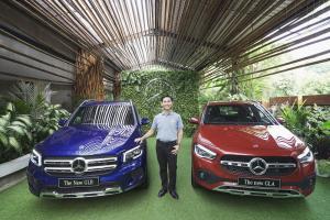 Choi Duk Jun di antara Mercedes-Benz New GLA dan New GLB