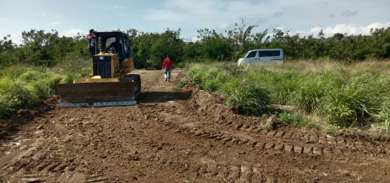 Persiapan pembangunan sirkuit Badak, Tanjung Lesung untuk ajang sprint rally
