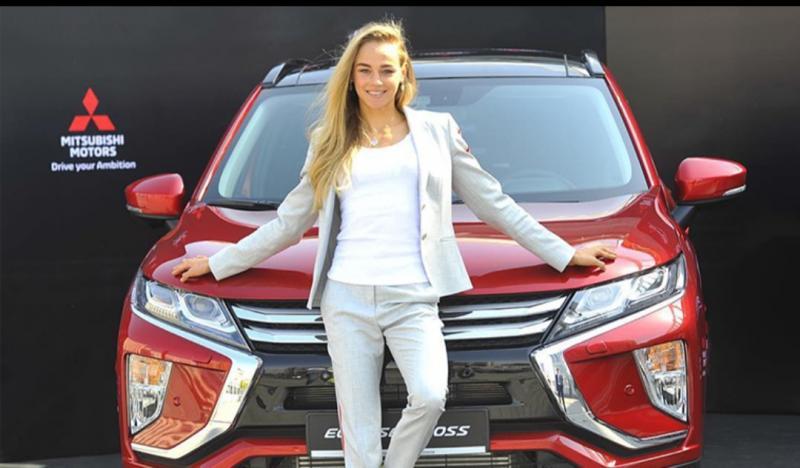 Daria Bilodid, atlet judo Ukraina sebagai brand ambassador Mitsubishi