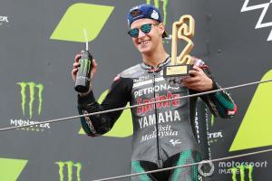 Fabio Quartararo (Petronas Yamaha Srr) , kemenangan ketiga dalam 8 race. (Foto: motorsport)