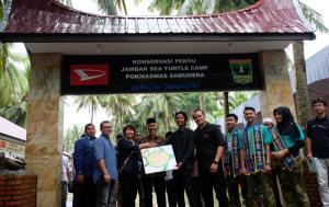 Terdapat 6 konservasi penyu binaan Daihatsu yang tersebar di seluruh Indonesia.