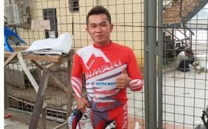 Fitriansyah Kete akan turun di latihan bersama balap motor Fast Corner on Circuit di SIKC. Foto diambil tahun lalu. (Foto : bs)