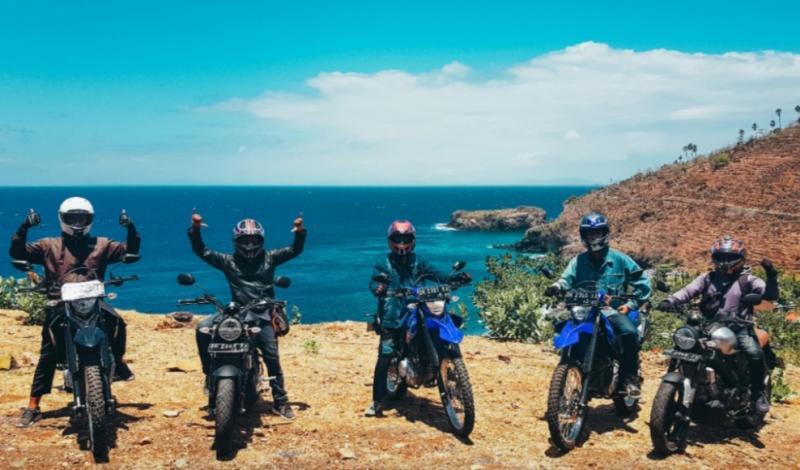 Yamaha ajak para blogger touring ke wilayah timur Pulau Bali untuk ikut bangkitkan pariwisata