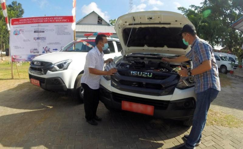 Astra Isuzu Manado, penjualan Isuzu MU-X digunakan sebagai ambulans.