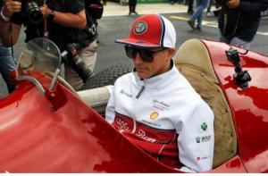Kimi Raikkonen (Finlandia/Alfa Romeo), pembalap tertua di grid F1 saat ini. (Foto: gpblog)