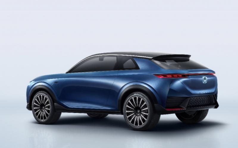Honda SUV e:concept yang dipamerkan di Beijing International Automotive Exhibition 2020