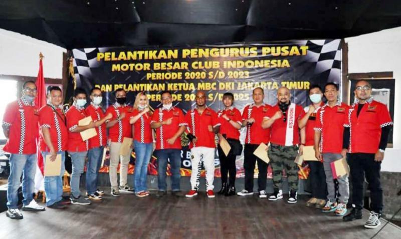 Pergantian pengurus antar waktu Pengurus Pusat MBC Indonesia periode 2020-2023.