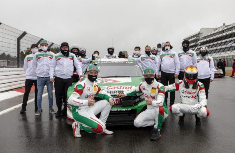 Tim melakukan pekerjaan yang hebat, para pembalapnya brilian dengan kekuatan mobil Honda Civic Type R yang luar biasa