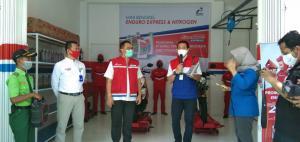 Peresmian Bengkel Enduro Express di Magetan, Jawa Timur. (foto : pertamina)