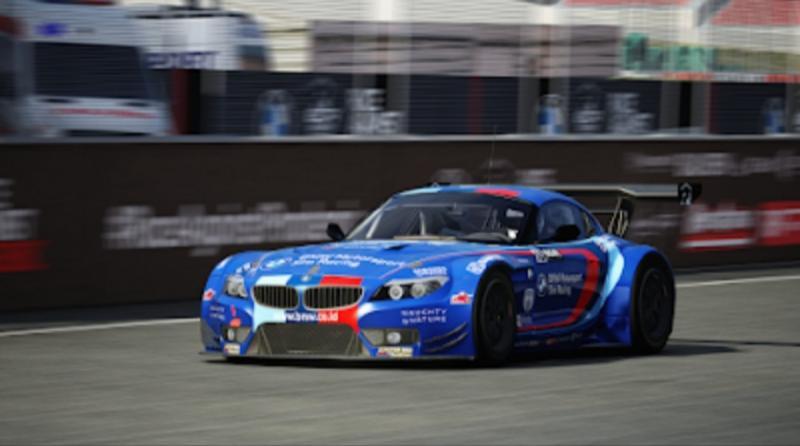 BMW Z4 GT3 dengan livery warna biru ini yang dipakai Moreno Pratama menjuarai Group A seri 1 BDR Race Against Pandemic lalu.