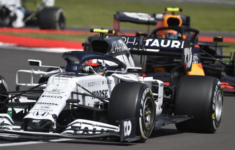 Pierre Gasly (AlphaTauri Honda) satu-satunya tim di luar Mercedes, Ferrari dan Red Bull yang mampu juara seri sejak era mesin hybrrid di F1. (Fotto: gpbloog)