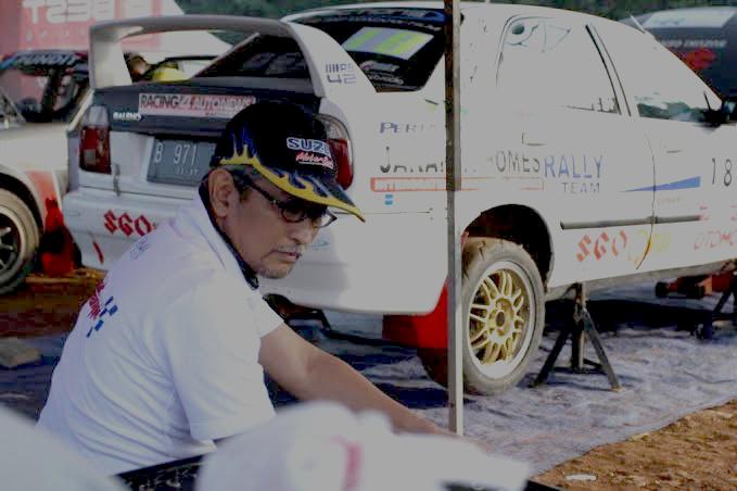 Yoyok Cempe, sudah siapkan dua mobil Suzuki untuk Sprint Rally Meikarta, 30 Oktober dan 1 November 2020