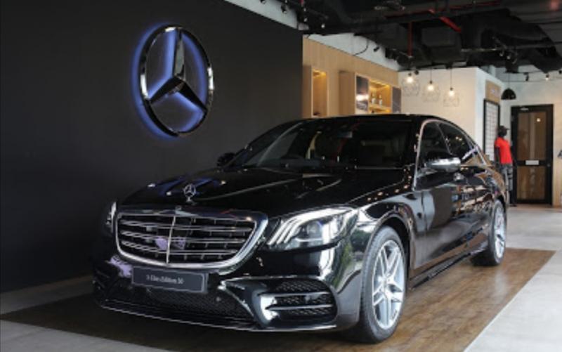 The New S 450 L AMG Edition 50, edisi khusus peringati 50 eksistensi Mercedes-Benz di Indonesia