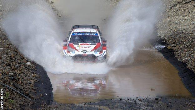 Elfyn Evans (Inggris/Toyota) menyongsong gelar juara dunia WRC 2020. n(Foto: gettyimage-bbc)